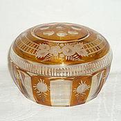 Винтаж handmade. Livemaster - original item VASE WITH LID, JEWELRY BOX, CANDY DISH. EGERMANN EGERMANN. Handmade.