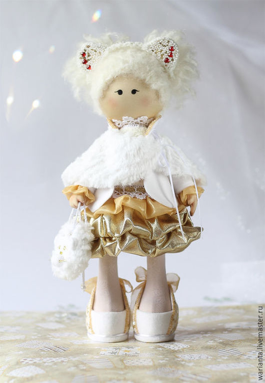 Коллекционные куклы ручной работы. Ярмарка Мастеров - ручная работа. Купить Лев. Кукла текстильная. Знаки зодиака. Лео. Handmade.