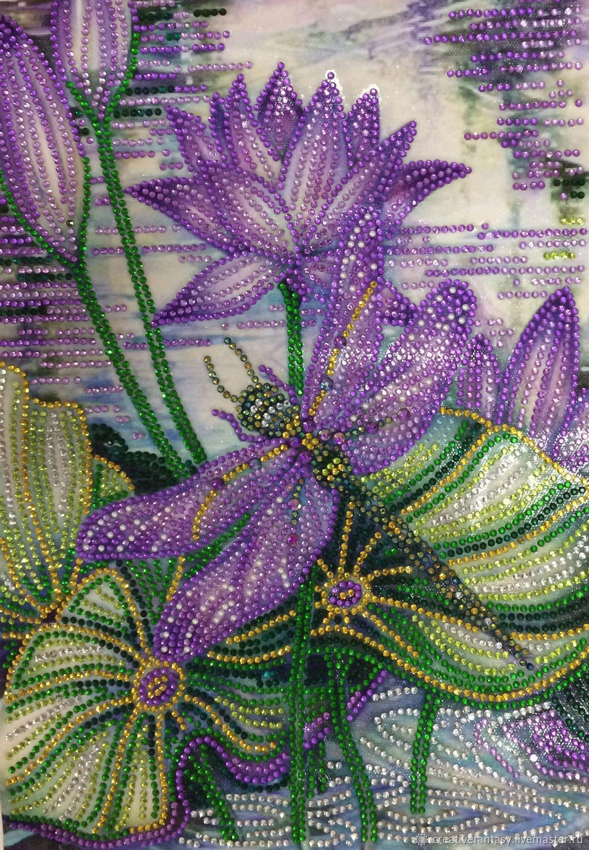 «Стрекоза и Орхидея», Картины, Саратов,  Фото №1