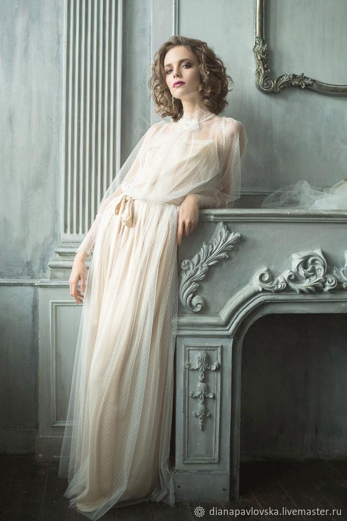 Платье в дворянском стиле