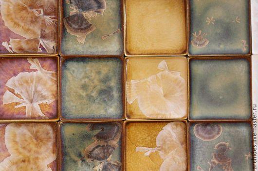 Элементы интерьера ручной работы. Ярмарка Мастеров - ручная работа. Купить Плитка керамическая ручной работы. Handmade. Фарфор, плитка