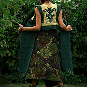 "Одежда handmade. Livemaster - original item ""Owl"" Vest. Handmade."