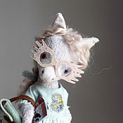 Куклы и игрушки handmade. Livemaster - original item Pony Luna Lovegood, the author`s pony, Teddy, 19cm. Handmade.
