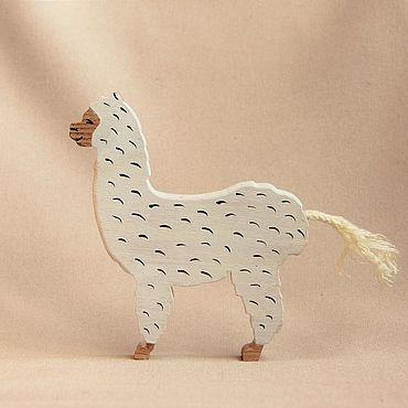 Деревянная игрушка - Альпака