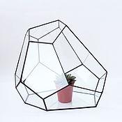 Цветы и флористика handmade. Livemaster - original item The Floriana for plants. Geometric vase for Floriana. The Floriana. Handmade.