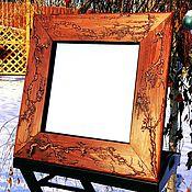 """Для дома и интерьера manualidades. Livemaster - hecho a mano Зеркало """"Медные реки"""". Handmade."""