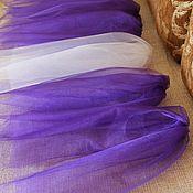 Свадебный салон ручной работы. Ярмарка Мастеров - ручная работа Фата для девичника с гребешком. Handmade.