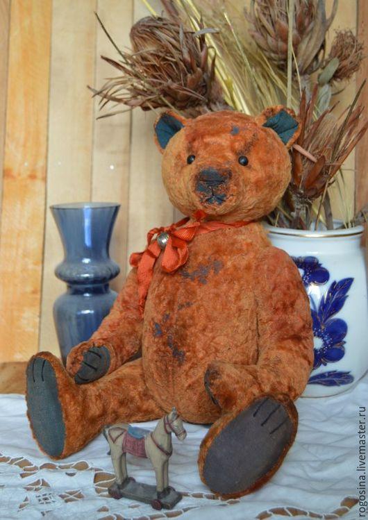 Мишки Тедди ручной работы. Ярмарка Мастеров - ручная работа. Купить Лоренцо 41 см до. Handmade. Оранжевый