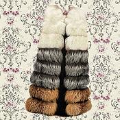 Одежда ручной работы. Ярмарка Мастеров - ручная работа Комбинированный жилет из натурального меха.. Handmade.