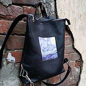 Сумки и аксессуары handmade. Livemaster - original item Backpack youth. Handmade.