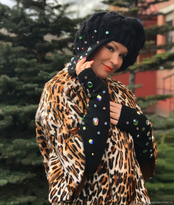 Комплект КЕПАРЬ И МИТЕНКИ, Кепки, Москва,  Фото №1