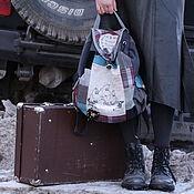 """Сумки и аксессуары ручной работы. Ярмарка Мастеров - ручная работа Муми-рюкзак """"Чай под черешней"""". Handmade."""