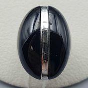 Украшения handmade. Livemaster - original item Silver ring with black onyx. Handmade.