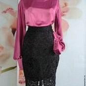 Одежда ручной работы. Ярмарка Мастеров - ручная работа Блуза+юбка. Handmade.