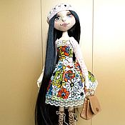 Куклы и игрушки ручной работы. Ярмарка Мастеров - ручная работа Текстильная кукла Милена.. Handmade.
