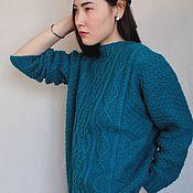 "Одежда handmade. Livemaster - original item Jumper, sweater, tunic ""GABRIELA"" of merino wool. Handmade."