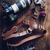 Ремни ручной работы. Ярмарка Мастеров - ручная работа Разгрузка для фотографа. Handmade.