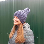 Аксессуары handmade. Livemaster - original item Hat knitted with spokes ( unisex ). Handmade.