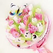 Цветы и флористика handmade. Livemaster - original item A bouquet of 15 chocolates