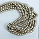 Жемчуг 4мм Swarovski Platinum, хрустальный жемчуг Сваровски 5810. Жемчуг сваровски, жемчуг swarovski, swarovski pearl.
