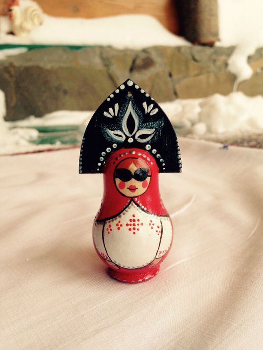 Новый год 2017 ручной работы. Ярмарка Мастеров - ручная работа. Купить Деревянные елочные игрушки. Handmade. Игрушка ручной работы