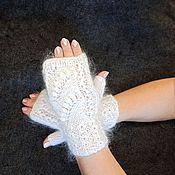 Аксессуары handmade. Livemaster - original item Down mitts