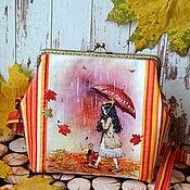 Работы для детей, handmade. Livemaster - original item Bag for girls