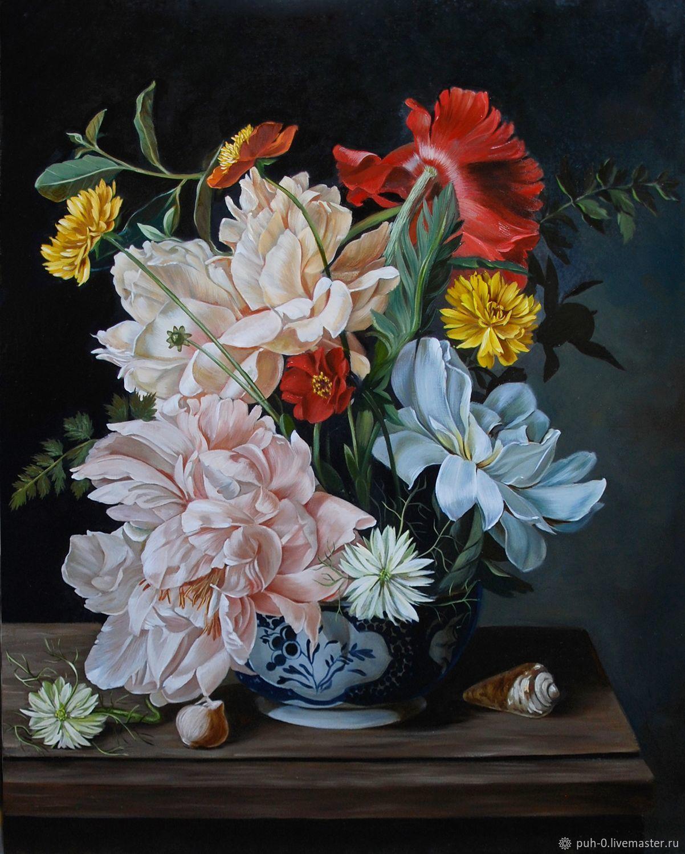 Цветы.копия, Картины, Санкт-Петербург,  Фото №1