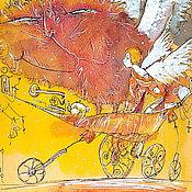 """Картины и панно ручной работы. Ярмарка Мастеров - ручная работа """"Прогулки по луне"""". Handmade."""