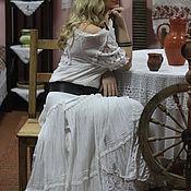 """Одежда ручной работы. Ярмарка Мастеров - ручная работа Юбка и блузка """"Lace dreams 2"""", с кружевом ришелье ручной работы.. Handmade."""