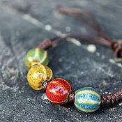 handmade. Livemaster - original item Ceramic bracelet