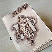 Канцелярские товары handmade. Livemaster - original item Personalized passport cover, leather passport cover with monogrammed. Handmade.