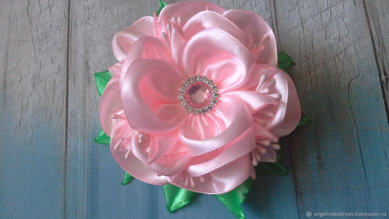 Elegant pink rubber bands-flowers, , Belgorod,  Фото №1