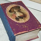 Для дома и интерьера ручной работы. Ярмарка Мастеров - ручная работа шкатулка-книга-фолиант,,Раритет,,-30%. Handmade.