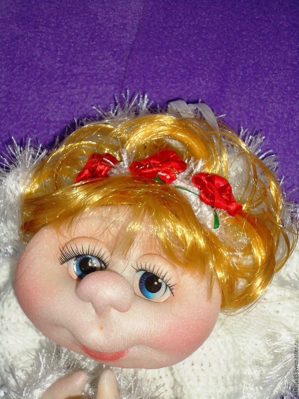 Кукла своими руками из синтепона фото