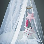 Работы для детей, ручной работы. Ярмарка Мастеров - ручная работа Мобиль в кроватку. Handmade.