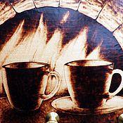 """Для дома и интерьера ручной работы. Ярмарка Мастеров - ручная работа Ключница-вешалка """"Двое"""".. Handmade."""