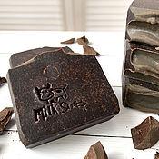 Косметика ручной работы handmade. Livemaster - original item Natural soap with cow`s milk Chocolate. Handmade.