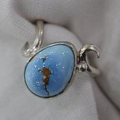 Украшения handmade. Livemaster - original item A turquoise ring Little happiness -1. Handmade.