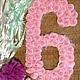 Цифра 6 или 9 для декора праздника
