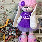 Куклы и игрушки ручной работы. Ярмарка Мастеров - ручная работа Зайка девочка. Handmade.