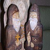 Русский стиль ручной работы. Ярмарка Мастеров - ручная работа фигура  монаха,скитника. Handmade.