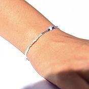 Украшения handmade. Livemaster - original item Horizon bracelet with adjustable length. Handmade.