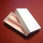 """Коробки ручной работы. Ярмарка Мастеров - ручная работа 14,5х7,5х3,5 см """"крышка-дно""""с разделителем. Handmade."""
