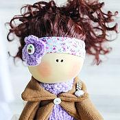 """Куклы и игрушки ручной работы. Ярмарка Мастеров - ручная работа В НАЛИЧИИ - Текстильная интерьерная кукла """"Брюнетка"""". Handmade."""