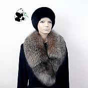 Аксессуары handmade. Livemaster - original item Fur detachable collar boa Fox fur Kristall, TC-484. Handmade.