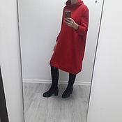 Платья ручной работы. Ярмарка Мастеров - ручная работа Платья: Платье толстовка, худи, оверсайз. Handmade.