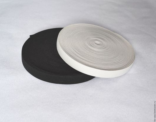 Шитье ручной работы. Ярмарка Мастеров - ручная работа. Купить Резинка черная и белая. Handmade. Чёрно-белый, резинка, резинка