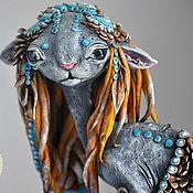 Куклы и игрушки handmade. Livemaster - original item Zodiac. Cat race. Handmade.