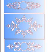 Материалы для творчества handmade. Livemaster - original item 5824 adhesive-based Stencil reusable. Handmade.